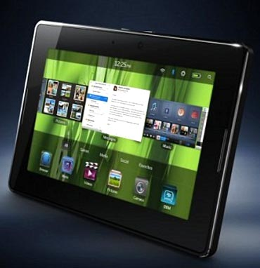BlackBerry Playbook in India on June 22
