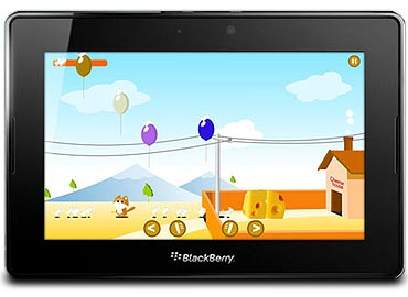 BlackBerry Playbook officially in India on June 22