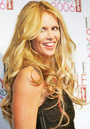 If you've coloured or streaked your hair like Elle Macpherson, avoid playing with synthetic colours