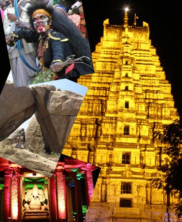 The Hampi festival is a tribute to Hampi's glorious heritage.