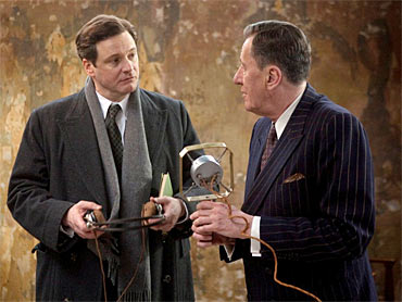 A still from The King's Speech