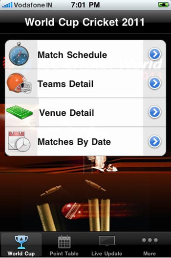 World Cup Cricket 2011