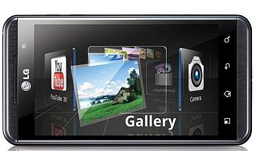 LG Optimus 3D.