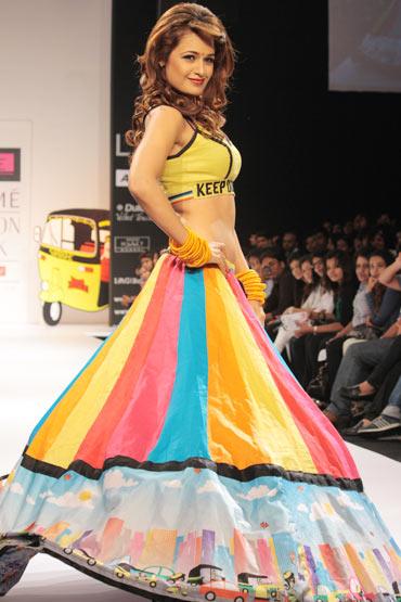 Yuvika Chaudhary for Sabah Khan
