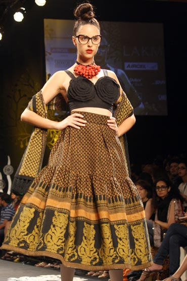 A Sabyasachi creation from the LFW this season