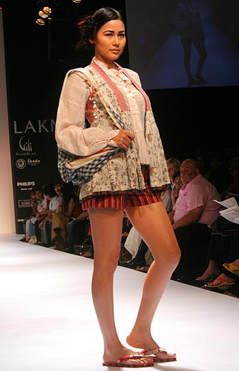 A creation by Sabya's favourite young designer, Aneeth Arora