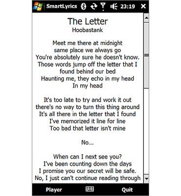 SmartLyrics