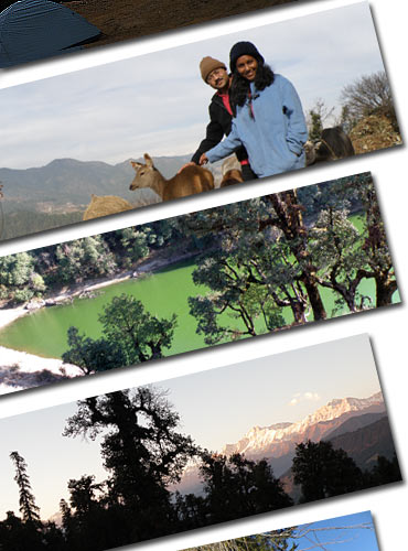 Honeymoon travels: Trekking in Nainital