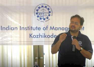 Prof Debashis Chatterjee, Director of Indian Institute of Management, Kozhikode