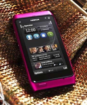 Pink Nokia N8