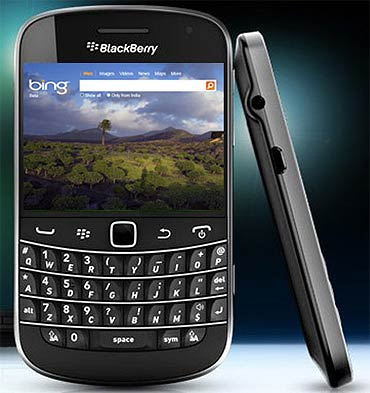 Bing Maps and search on future BlackBerry phones