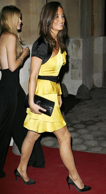 Pippa Middleton attends the Tatler 300th anniversary party on October 14, 2009 in London, England