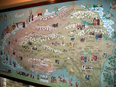 Rare map of Tibet