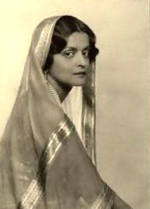 Indira Raje of Baroda