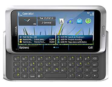 Nokia E7: Recommended for business users