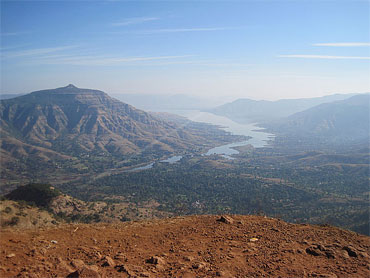 Sahyadri Hills near Mumbai serve as an excellent destination for trekking.