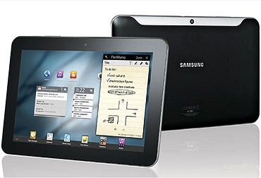 Samsung Galaxy Tab 8.9 and 10.1