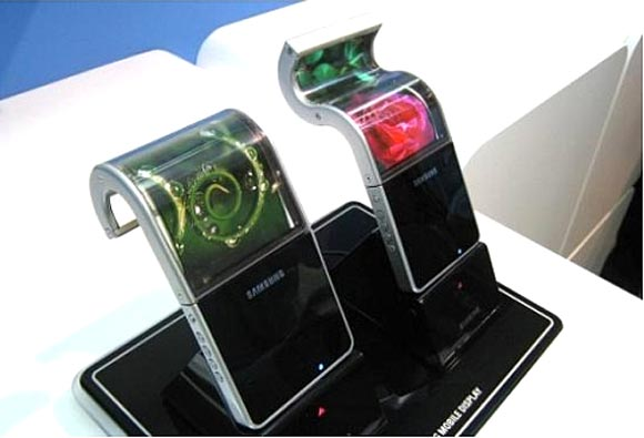 Samsung's flexible displays