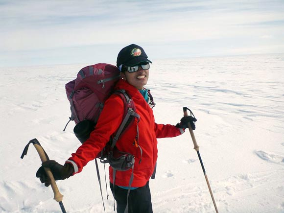 Deeya Bajaj on the Trans-Greenland Ski Expedition