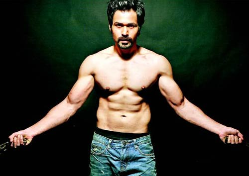 For Emraan Hashmi's sizzling physique, you need to strike upon the ideal workout regime