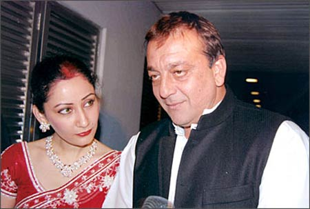 Maanayata and Sanjay Dutt