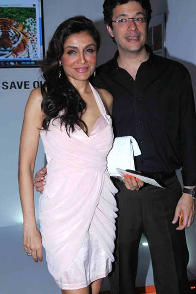 Queenie Singh and Farhad Taraporewala