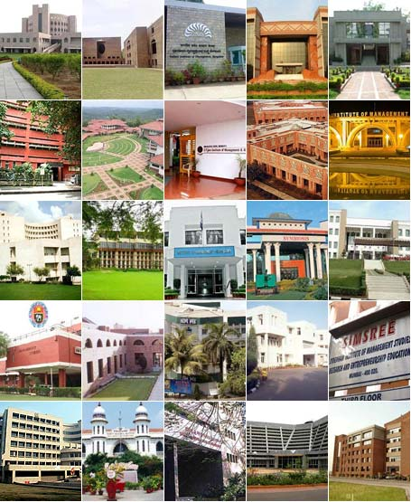 Top 25 business schools in India for 2011