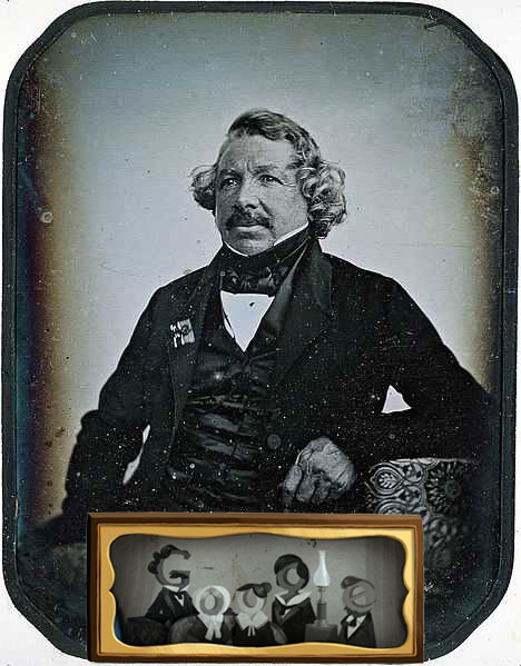 Louis Daguerre's 224th birthday honoured by Google doodle