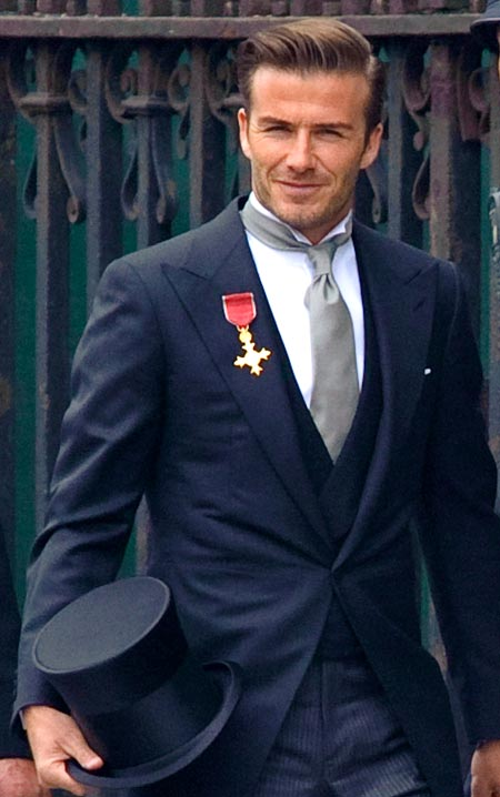 David Beckham is an unabashed metrosexual -- and women, including wife Victoria, seem to love it!
