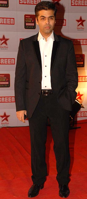 Karan Johar makes no bones about being in tune with his feminine side -- two thumbs up!