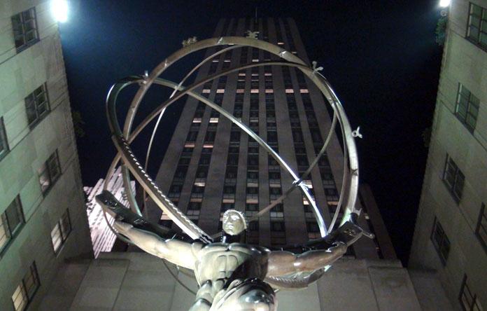 Rockerfeller centre in Manhattan