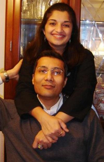 Amishi Choksi and Bhavesh Bhagat