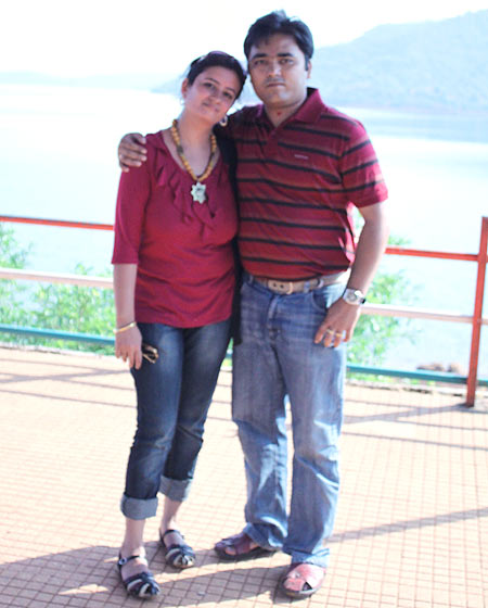 Neha Mishra and Vikas Jha