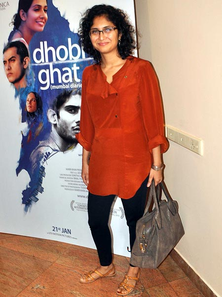 Kiran Rao is in the same line of work as hubby Aamir Khan, but it's obvious that she doesn't poke her nose into his ventures without being asked for her opinion