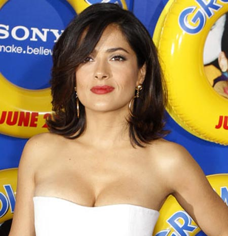 Salma Hayek is married to billionaire Francois Henri Pinault but has stated she doesn't depend upon him for money, since she's so successful herself