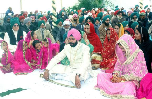 A Sikh wedding
