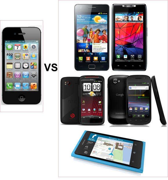 5 smartphones that could BEAT the iPhone 4S are here!