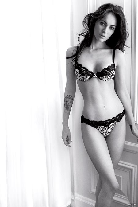 Megan Fox for Armani Underwear