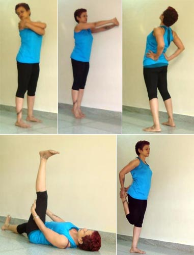 Yoga poses for a healthy heart