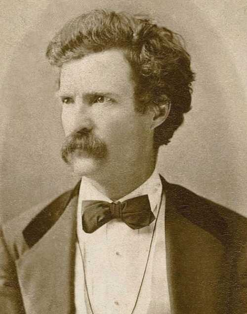 Mark Twain's 176th birthday