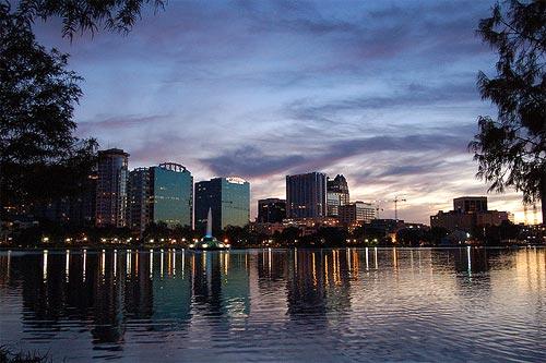 Orlando, Lake Eola