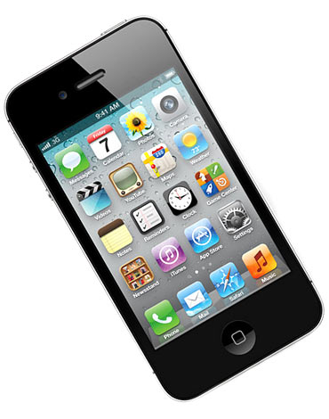 Image of iPhone 4S for representational purpose only