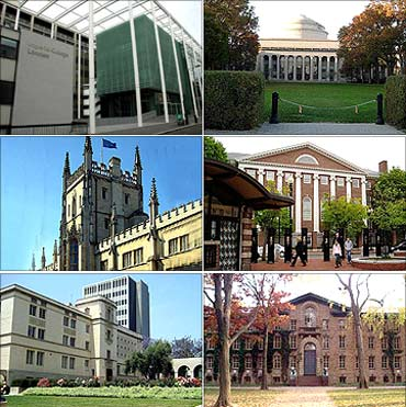 Top universities of the world 2011