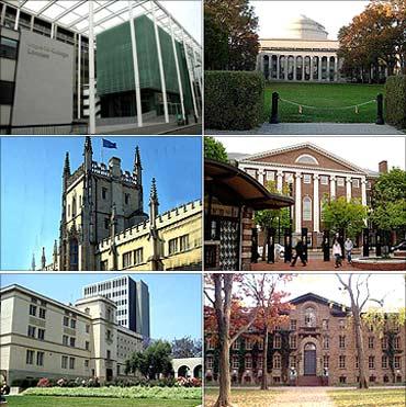 Top universities of the world 2011