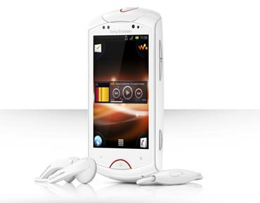 Sony Ericsson's Live with Walkman smartphone