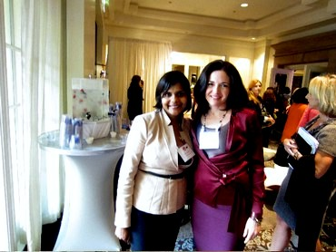 Stuti Jalan with Facebook's Sheryl Sandberg