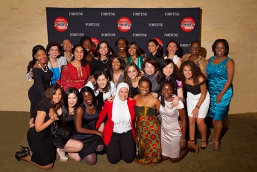 The 26 women selected forThe FortuneState Department Global Women's Mentoring Partnership Program