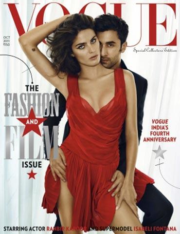 Isabeli Fontana and Ranbir Kapoor