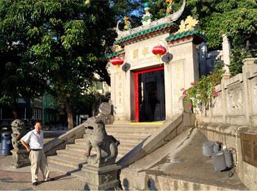 The A-Ma temple at Macau