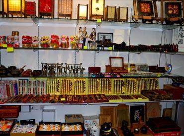 A shop in Stanley Market